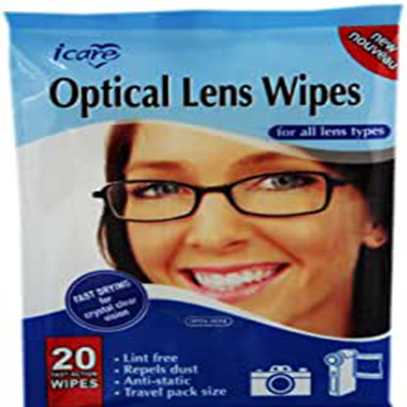 ICARE SPECTACLE CLEANING WIPES.